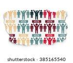 political concept  election... | Shutterstock . vector #385165540