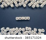 word think of small white...   Shutterstock . vector #385171324