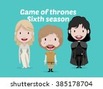 feb 02  2016 game of thrones... | Shutterstock .eps vector #385178704