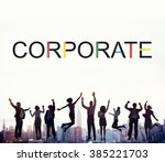 corporate business startup... | Shutterstock . vector #385221703