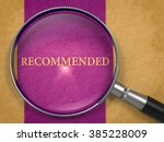 recommended through loupe on... | Shutterstock . vector #385228009