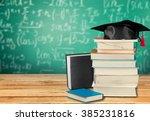 graduation. | Shutterstock . vector #385231816