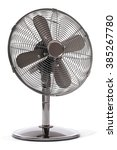 Metal Electric Fan  Isolated O...