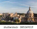 roman forum  italy | Shutterstock . vector #385269319