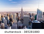 Manhattan Cityscape With...