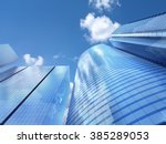 modern business office... | Shutterstock . vector #385289053
