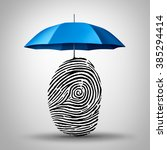 identification protection and... | Shutterstock . vector #385294414