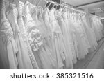 bridal dresses available for... | Shutterstock . vector #385321516