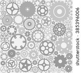 background with gears | Shutterstock .eps vector #385396006