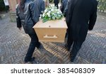 six peoply are carrying a... | Shutterstock . vector #385408309