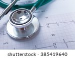 stethoscope on an