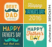 set of four typographic cards...   Shutterstock .eps vector #385426594