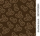 seamless pattern. coffee beans. ...   Shutterstock .eps vector #385490884