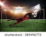 best goalkeeper   Shutterstock . vector #385496773