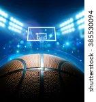 basketball arena | Shutterstock . vector #385530094