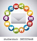 social media design  | Shutterstock .eps vector #385535668