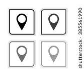 map pointer    grayscale vector ...