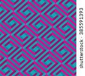 modern geometric seamless... | Shutterstock .eps vector #385591393