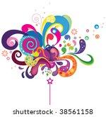 magic wand | Shutterstock .eps vector #38561158