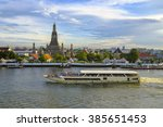 Ancient Pagoda Of Wat Arun And...