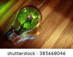 Recycling Light Bulb Concept....