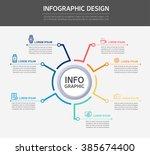 business info graphics | Shutterstock .eps vector #385674400