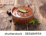 chocolate mousse | Shutterstock . vector #385684954
