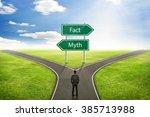 Businessman Concept  Sign Fact...