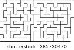 abstract vector labyrinth of...   Shutterstock .eps vector #385730470