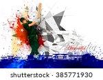 easy to edit vector... | Shutterstock .eps vector #385771930