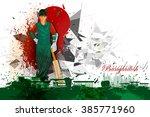 easy to edit vector... | Shutterstock .eps vector #385771960