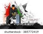 easy to edit vector... | Shutterstock .eps vector #385772419