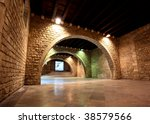 the picasso museum in old town...   Shutterstock . vector #38579566
