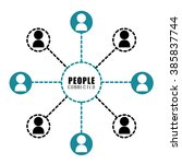 people and social network... | Shutterstock .eps vector #385837744