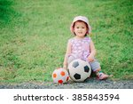 1 Year Old Baby Playing Soccer...