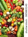 fresh vegetables | Shutterstock . vector #385883140