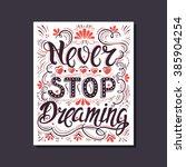 vector hand drawn vintage...   Shutterstock .eps vector #385904254