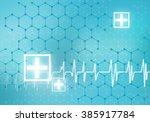 heart care | Shutterstock . vector #385917784