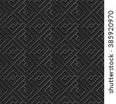 seamless 3d elegant dark paper...   Shutterstock .eps vector #385920970