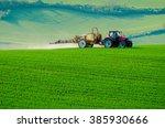 Farm Machinery Spraying...
