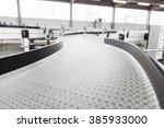 conveyer belt close up | Shutterstock . vector #385933000
