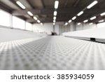 conveyer belt close up | Shutterstock . vector #385934059