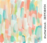 colorful abstract painted... | Shutterstock . vector #385938454