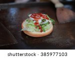 hamburger | Shutterstock . vector #385977103