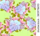 abstract elegance seamless...   Shutterstock . vector #385978693
