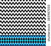 ethnic zigzag pattern | Shutterstock .eps vector #385987033