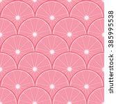 seamless circular pink... | Shutterstock .eps vector #385995538