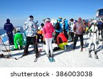 sochi  russia  february  27 ... | Shutterstock . vector #386003038