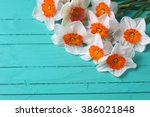 Background With Bright Orange...