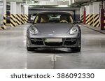 Постер, плакат: Photoshoot of Porsche Cayman